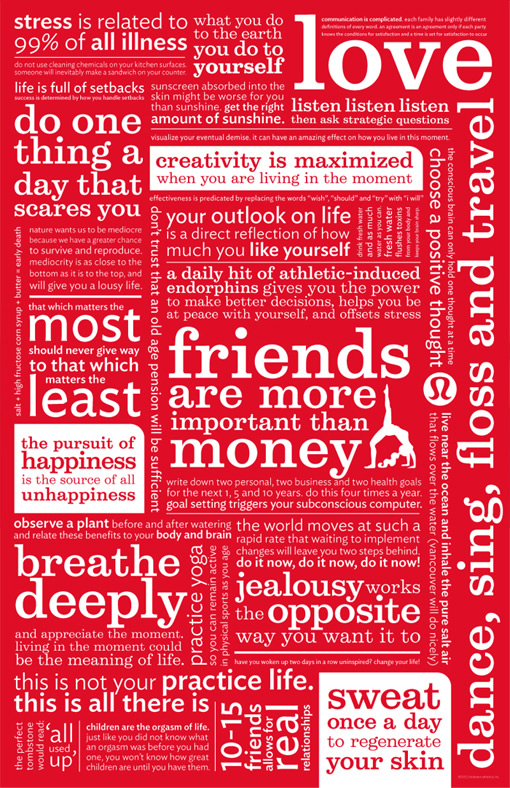 lululemon manifesto...love them all!