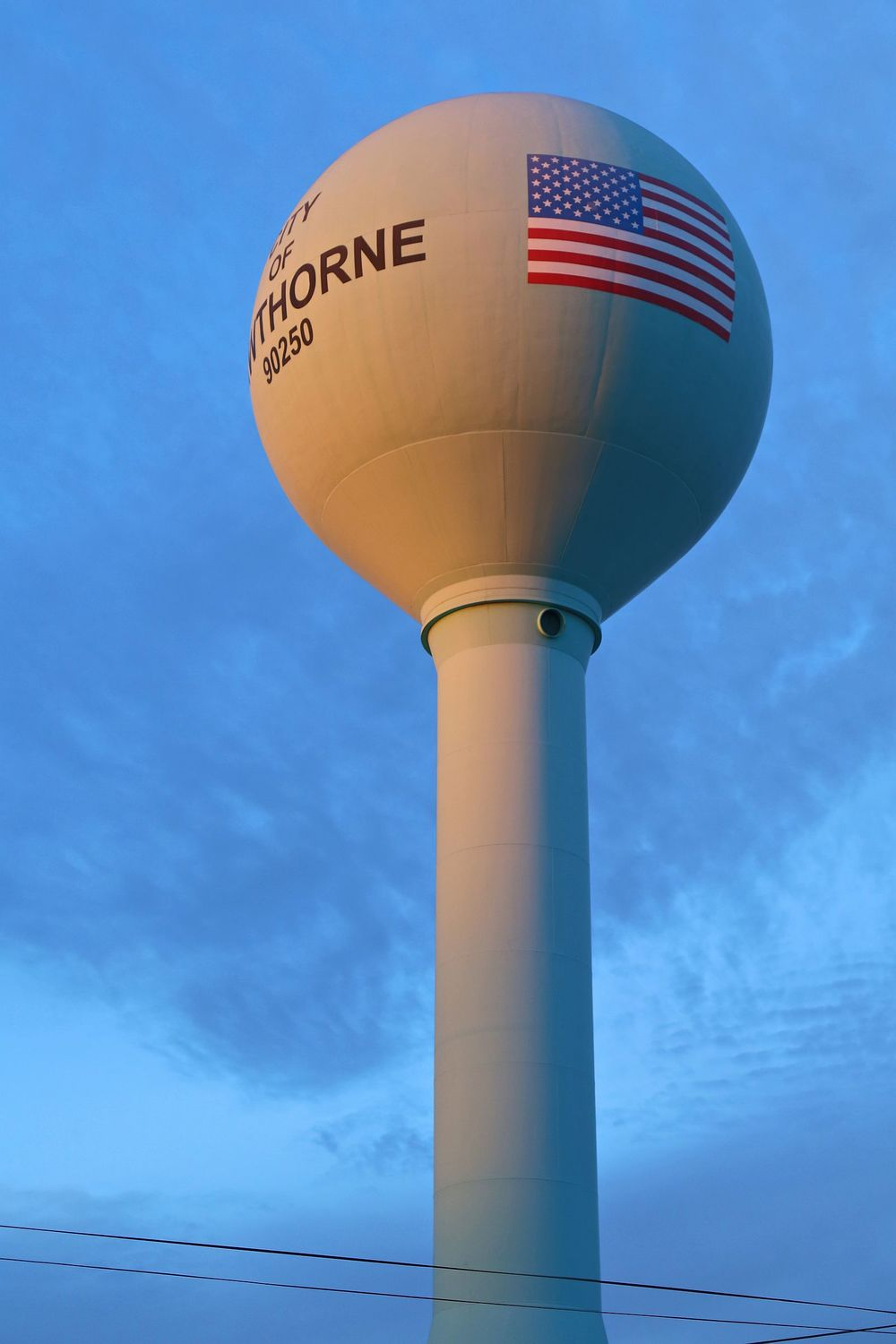 Hawthorne Water Tower
