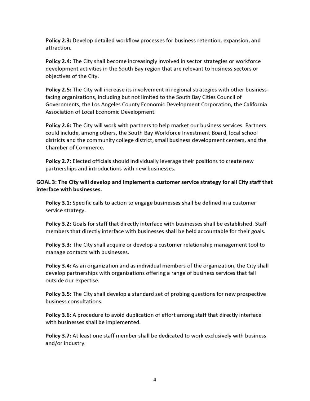 Economic Development Element General Plan Page6