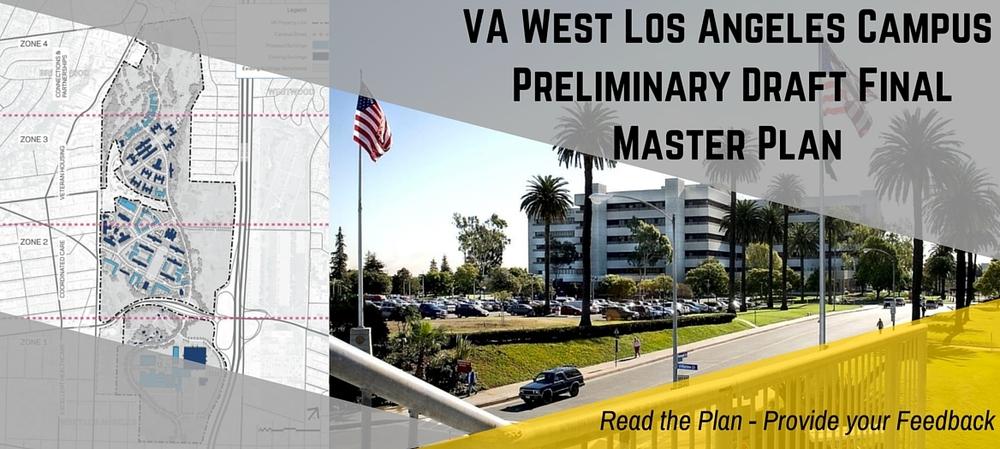 VA West LA Campus Preliminary Draft Final Master Plan image