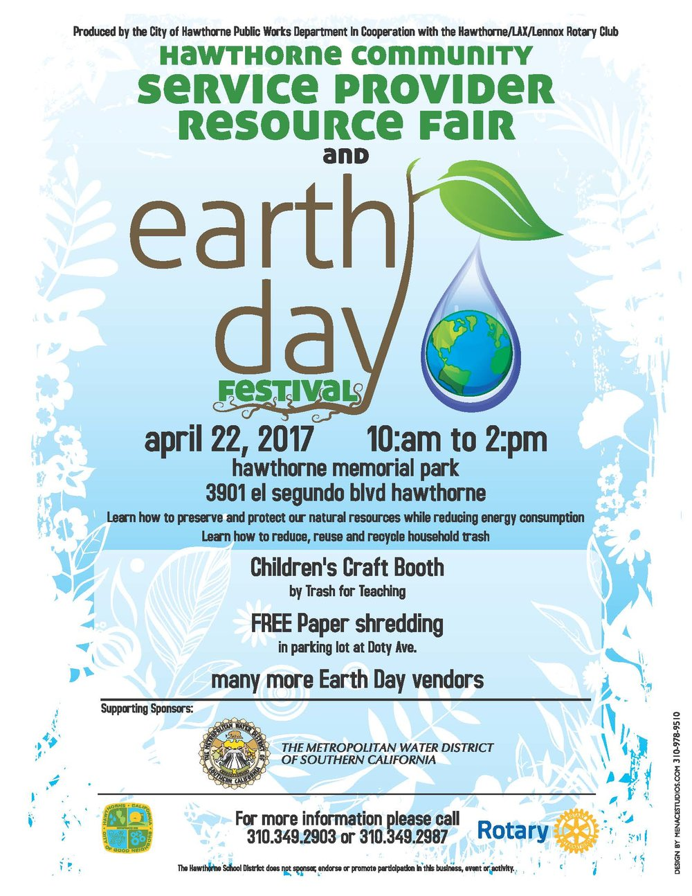Service Provider Resource Fair and Earth Day