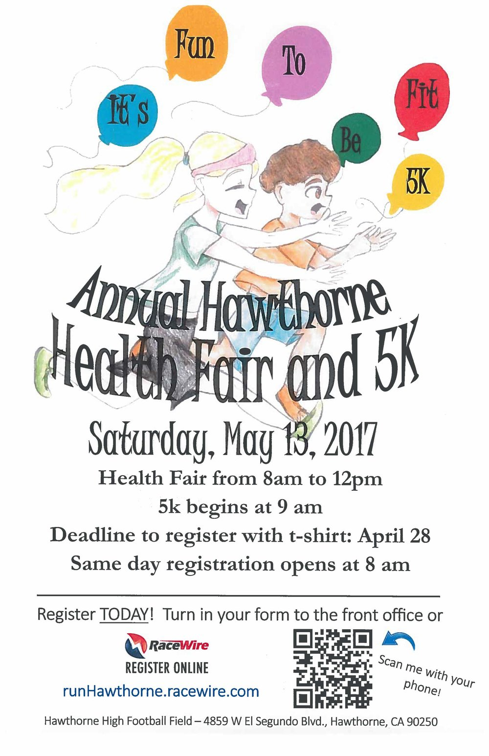 Health Fair and 5K run