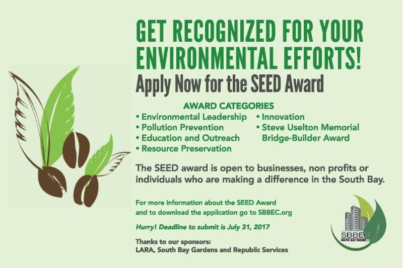 SEED Award flyer