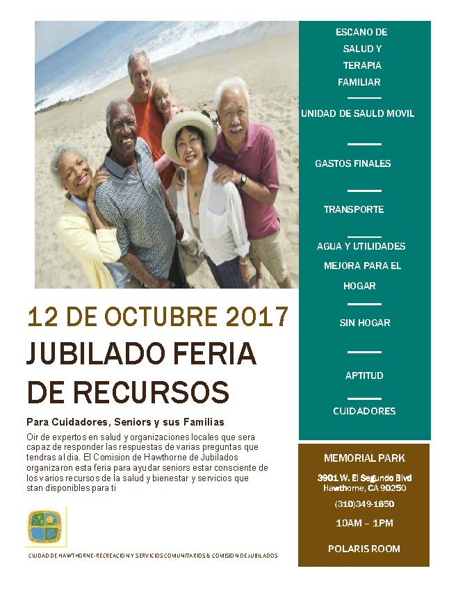 Senior Citizen Resource Fair - Spanish