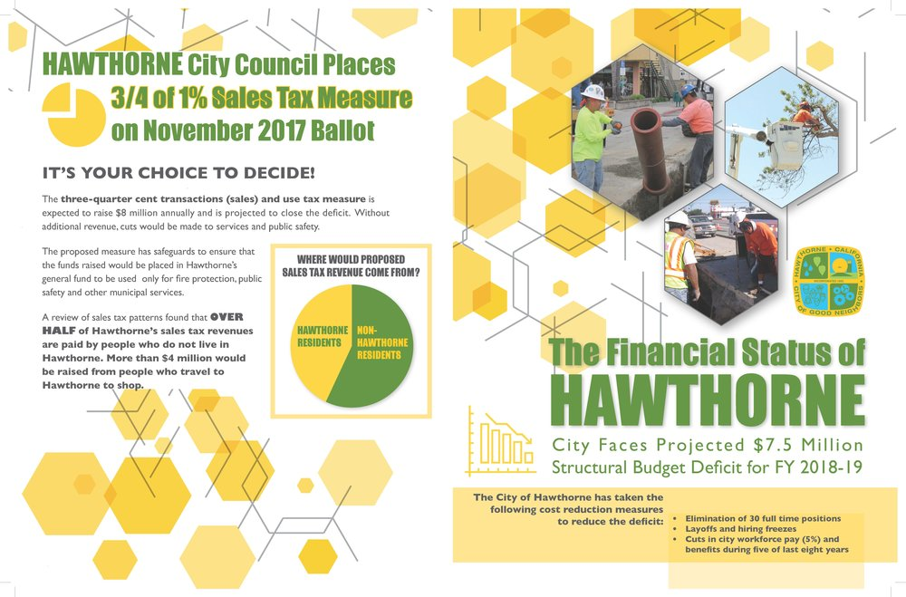 Hawthorne Ballot Initiative - Page 1