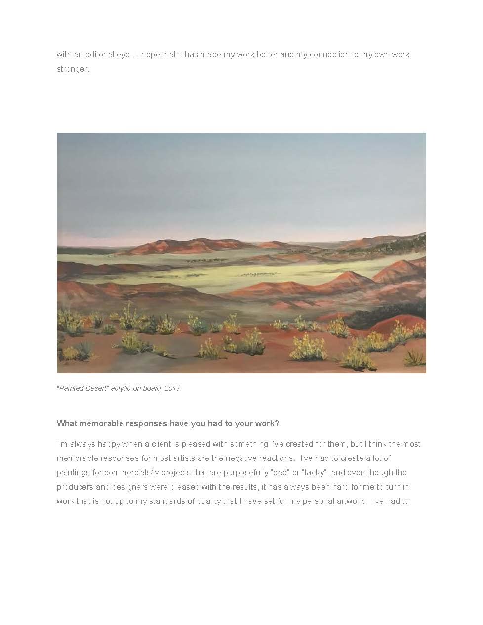 Painting - Painted Desert