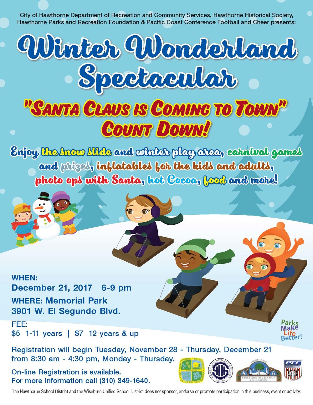 Winter Wonderland Spectacular - English