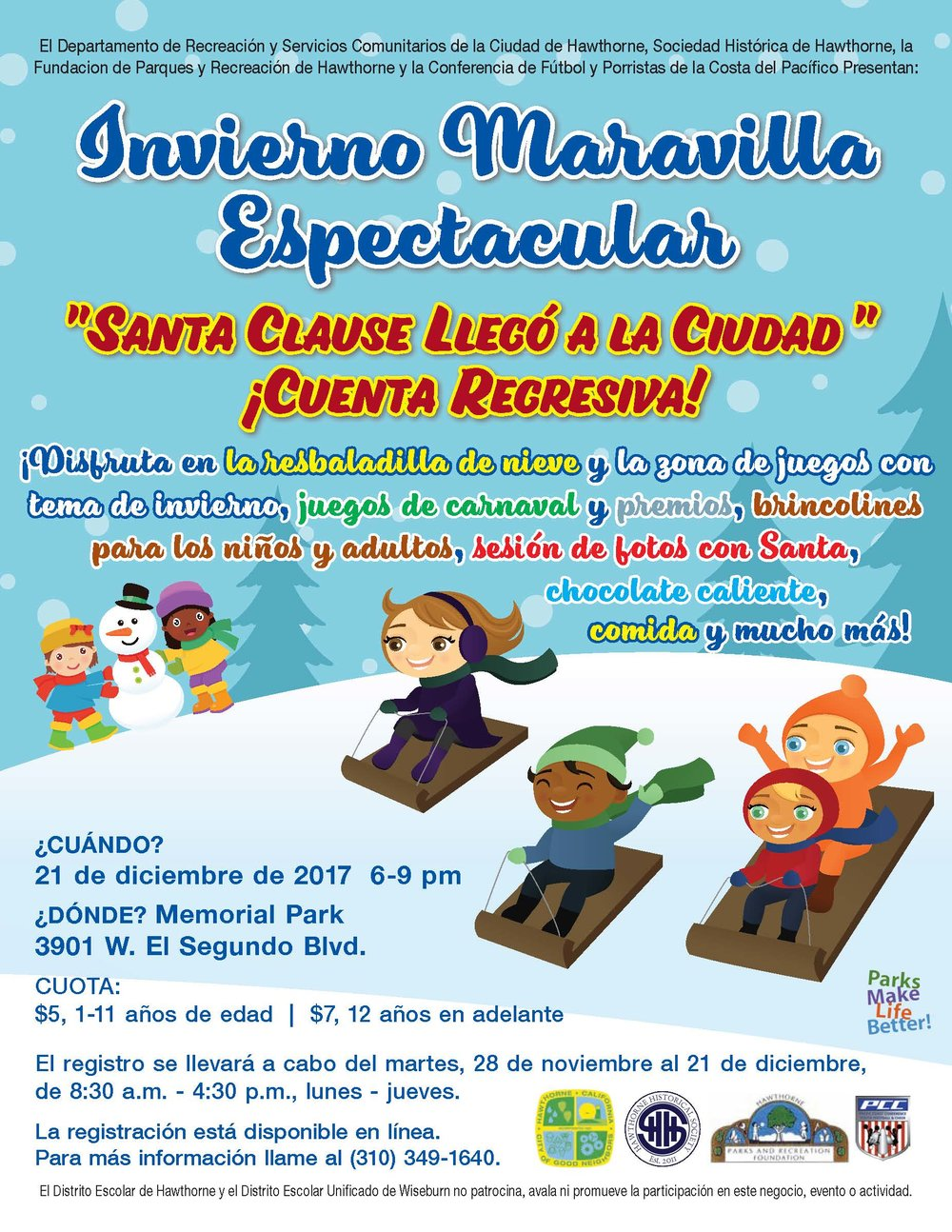 Winter Wonderland Spectacular - Spanish