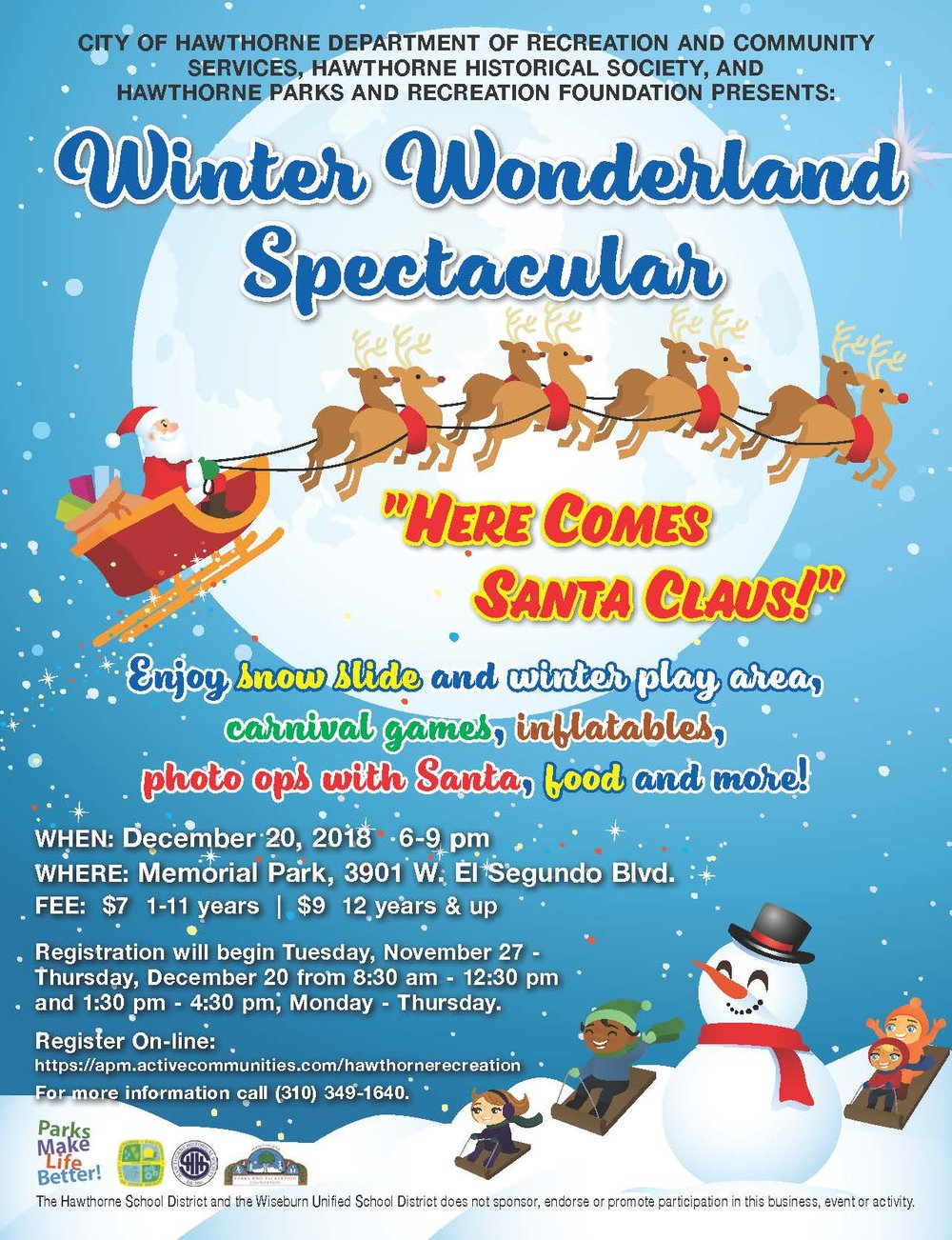 Winter Wonderland Spectacular - English