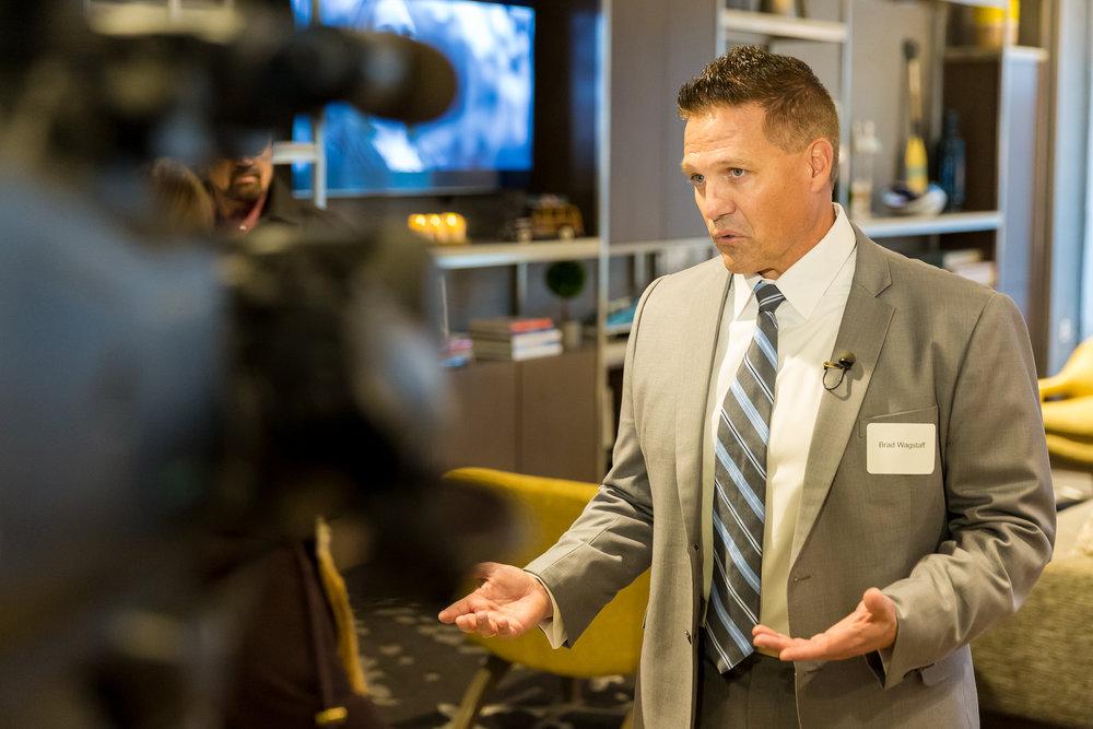 Brad Wagstaff - President & CEO of Mogul Capital