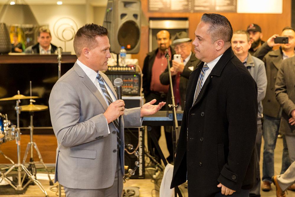 Mayor Vargas & Brad Wagstaff