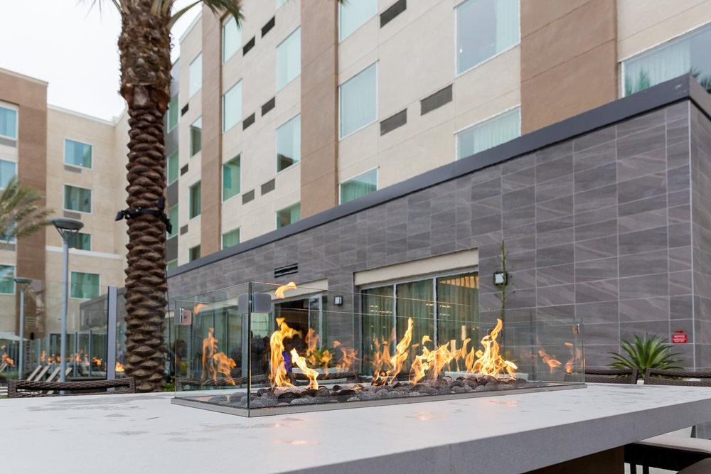 exterior firepit