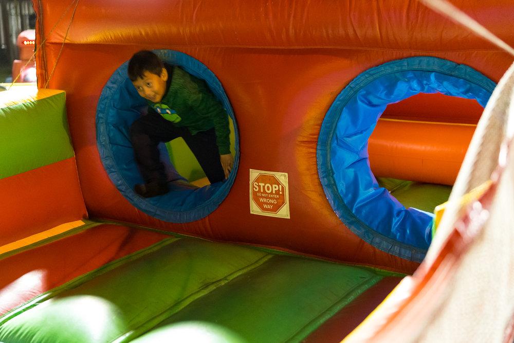 Vertical Rush slide