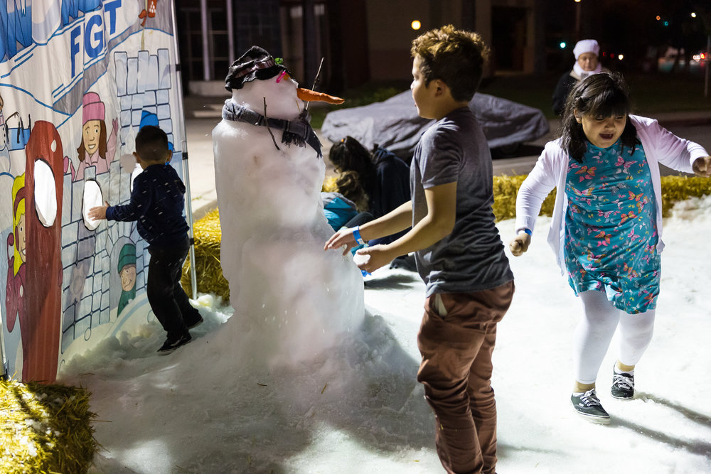 Snow ball fun