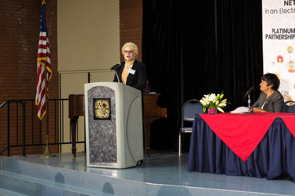Speaker Pat Donaldson