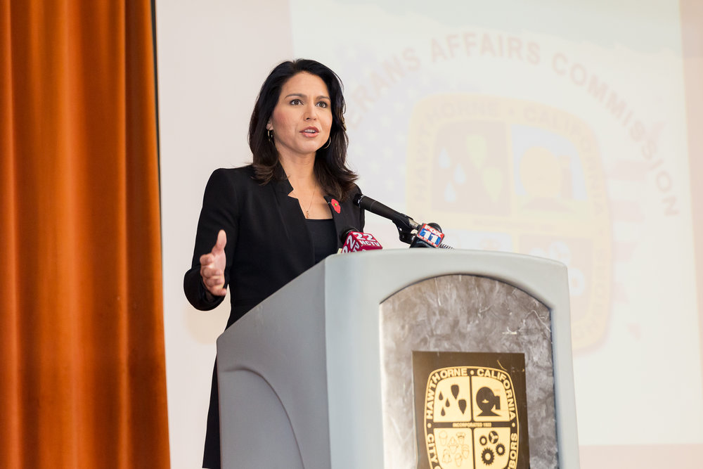 Tulsi Gabbard Hawaii Congresswoman
