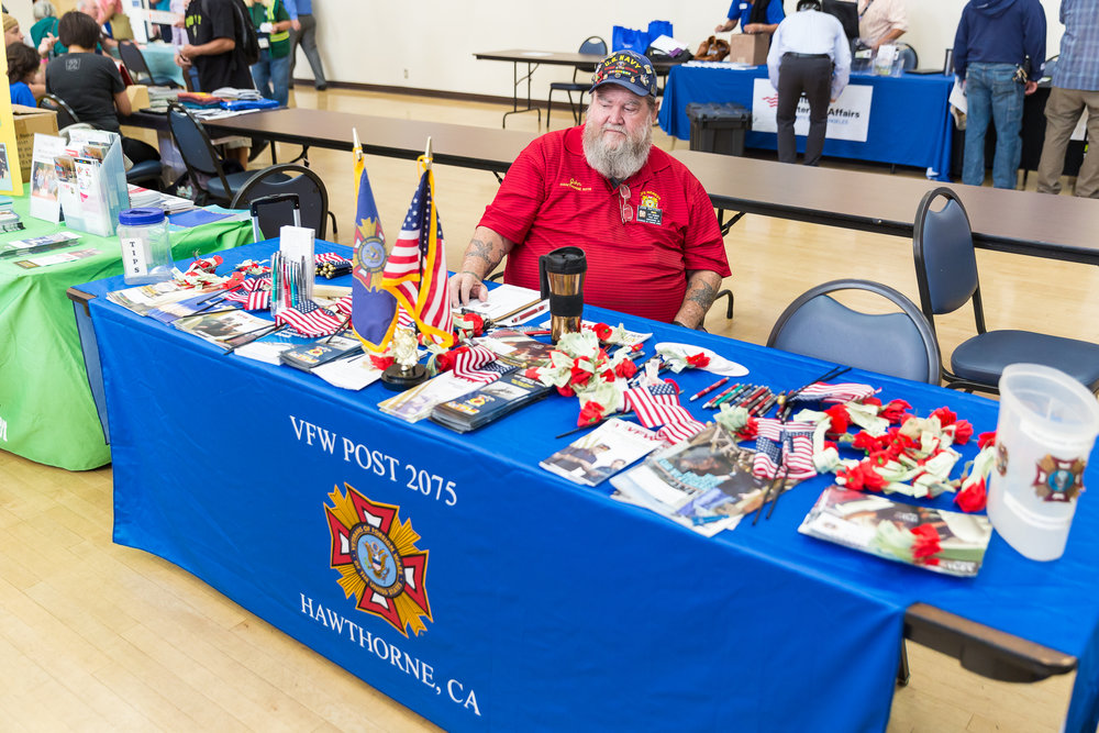 VFW Post 2075 booth