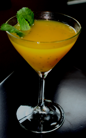 Mango Mint Martini