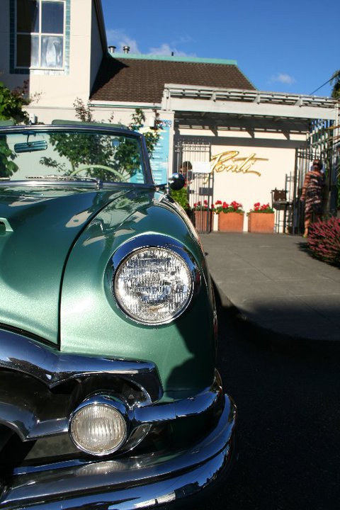 Beautiful Classic Car at Ponti Seafood Grill