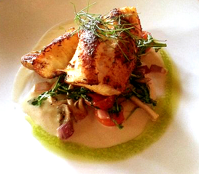 Pan Roasted Alaska Cod