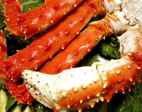 Steamed Alaska King Crab Legs