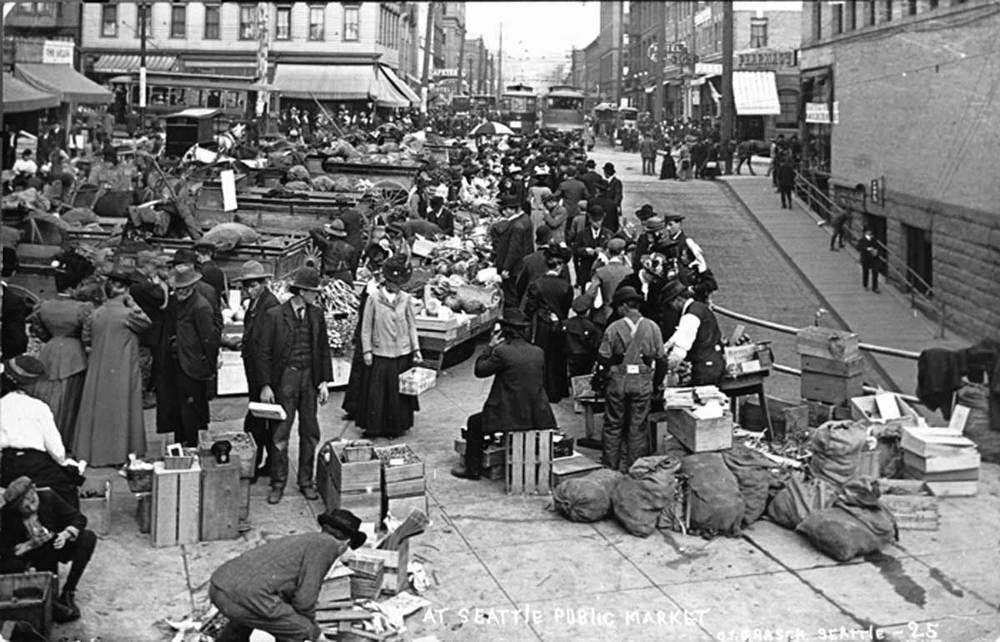 Pike Market 1907