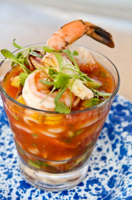 Seafood Cocktail with Calamari