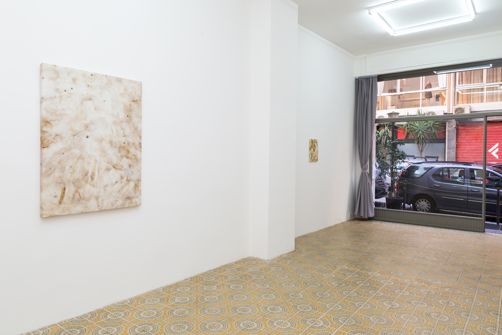 Installation shot for Domenica at Galleria Acappella. Naples, Italy