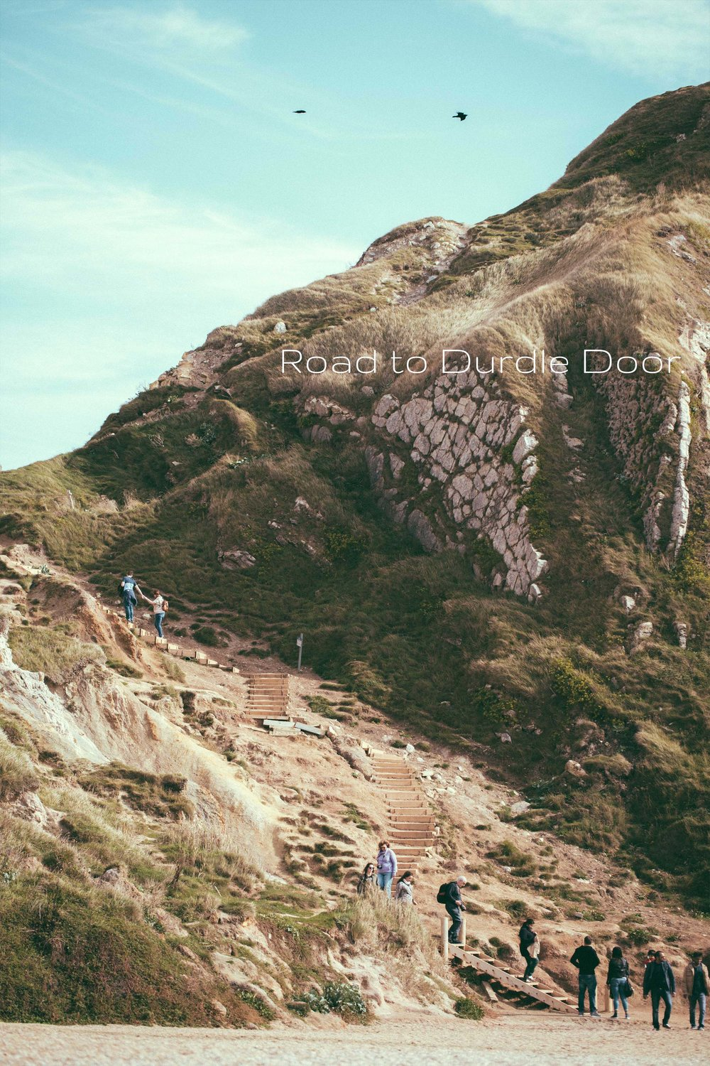 Road to Durdle Door. - Durdle Door is the most photographed landmark along the World Heritage Site,Jurassic Coast. This series chronicles my journey from an Instagram photo I came across to sitting on the beach of this magnificent landmark on a chilly afternoon.Click on image to enter.