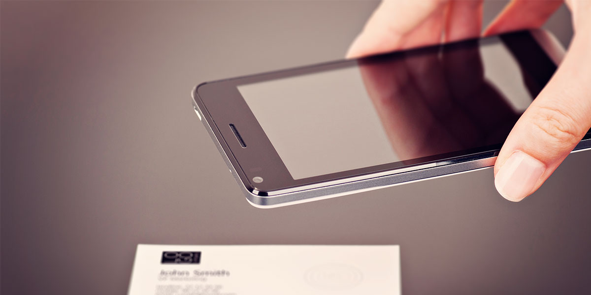 Nfc Technology Enables Futuristic Business Cards The Launch Agency