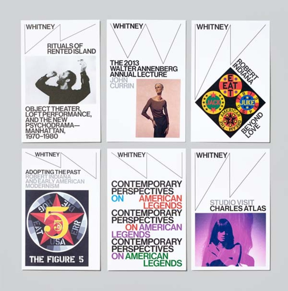 Whitney Museum collateral, c/o  Grafik