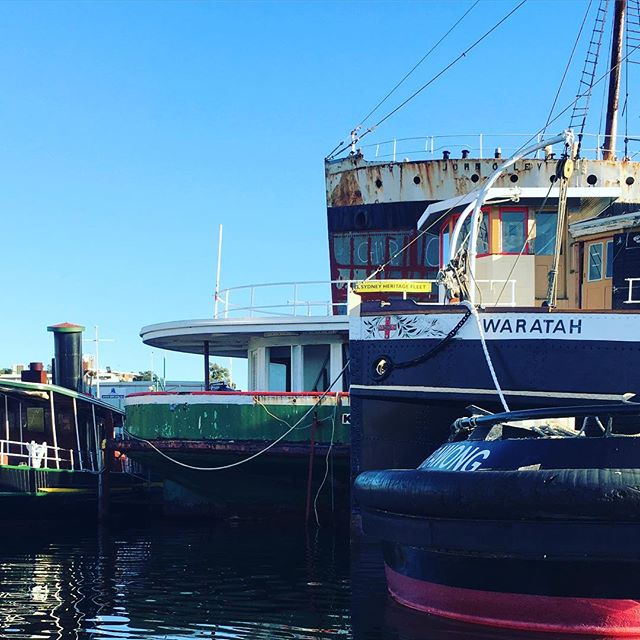 Harbour history #sydney #harbour #kayak