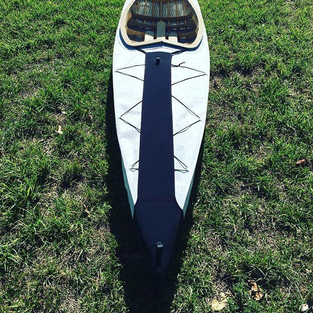 Neoprene kayak kondom #prototype #kayak #sydney