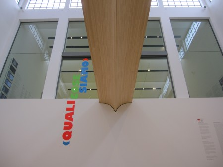 Entrance of Triennale Design Museum