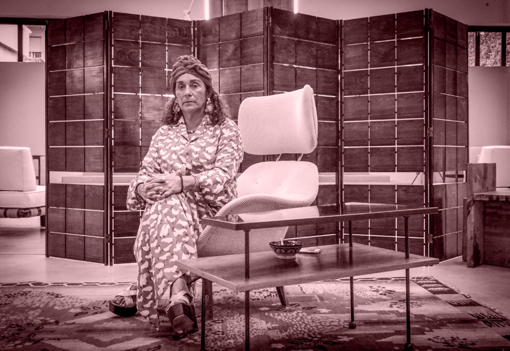 Nina Yashar - gallerist and talent scout