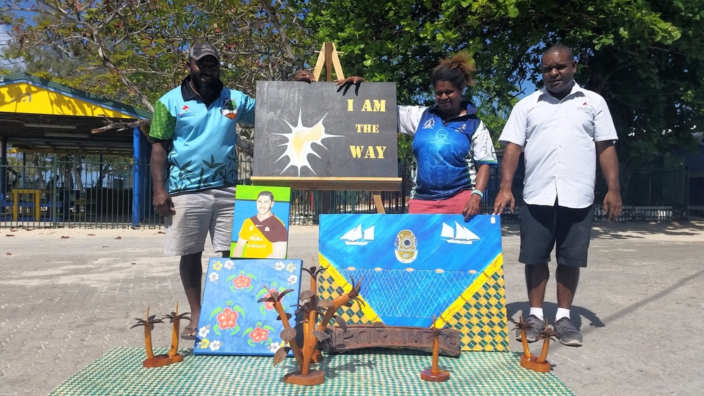 Coconut Island TSI Arts team development project