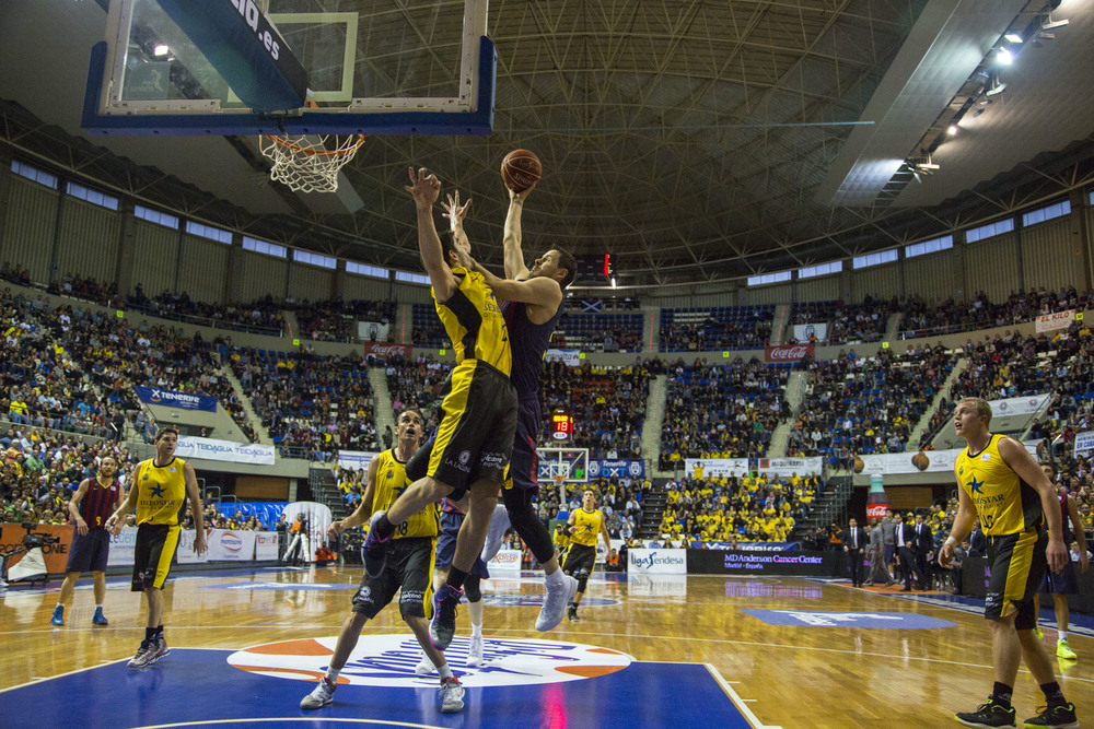 Barcelona was just too strong for Gipuzkoa Basket.