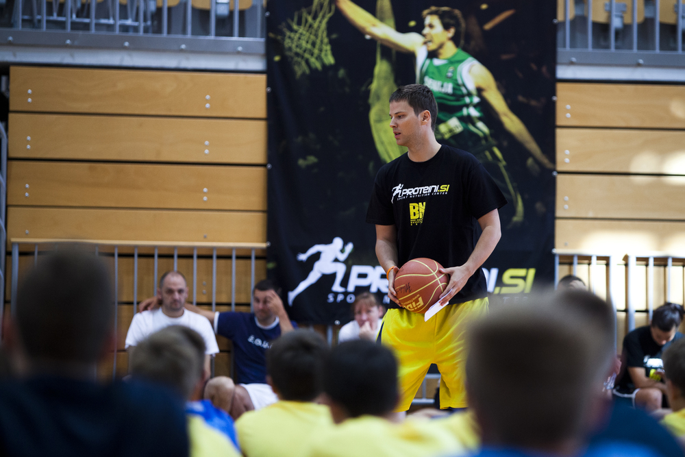 Grega is looking forward for the upcoming B.N. Basketball camp.