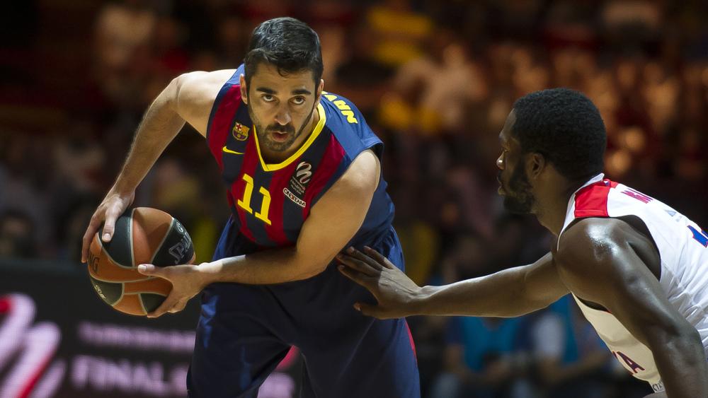 Navarro in Oleson sta poskrbela za prvo zmago Barcelone v playoffu lige ACB.