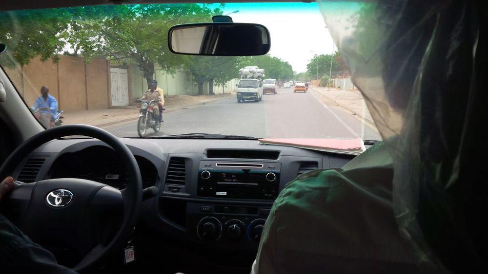 Vožnja po mestu n'Djamena