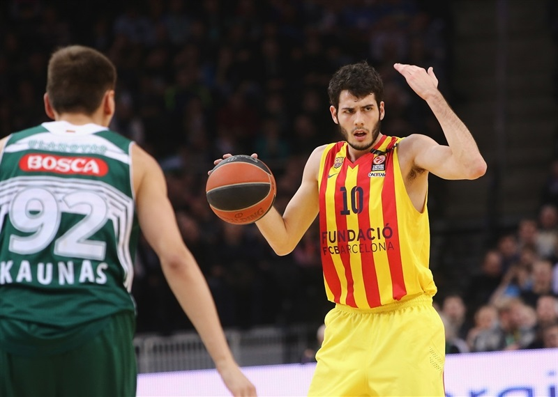 Alex Abrines was top scorer with 16 points.