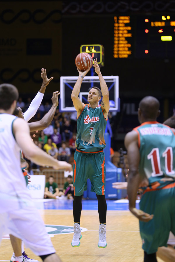 Boki couldn't be stopped in the game against Unicaja.