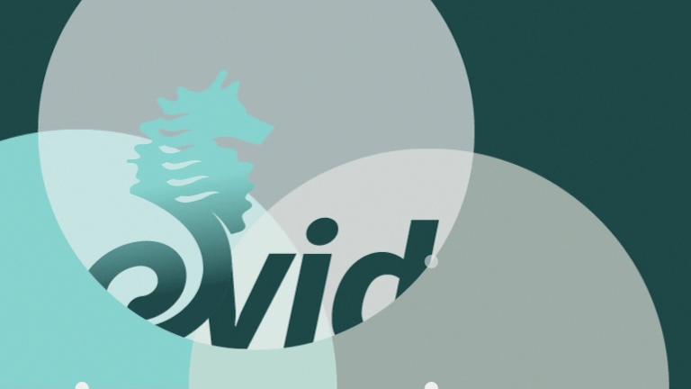Evides  - animatie ter gelegenheid van / gebruikt tijdens de onthulling van het Evides-logo.