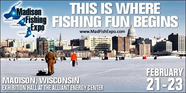Madison Fishing Expo Poster