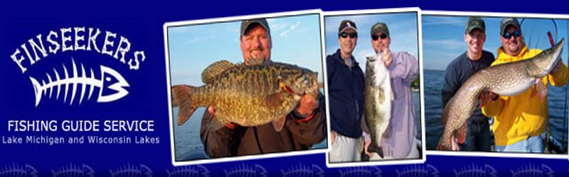 Finseekers Fishing Guide Service - Walworth Co./Lake Michigan     847-707-1827, severetts@dls.net www.finseekers.com