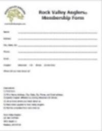 RVA Membership Form
