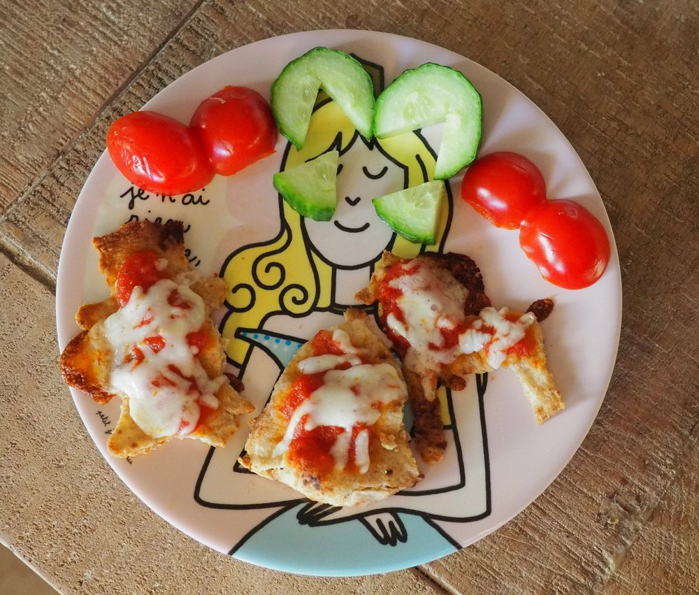 Cookie Cutter Pizzas -