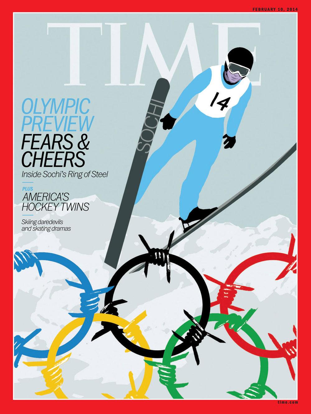 Time Magazine (USA) - SOCHI