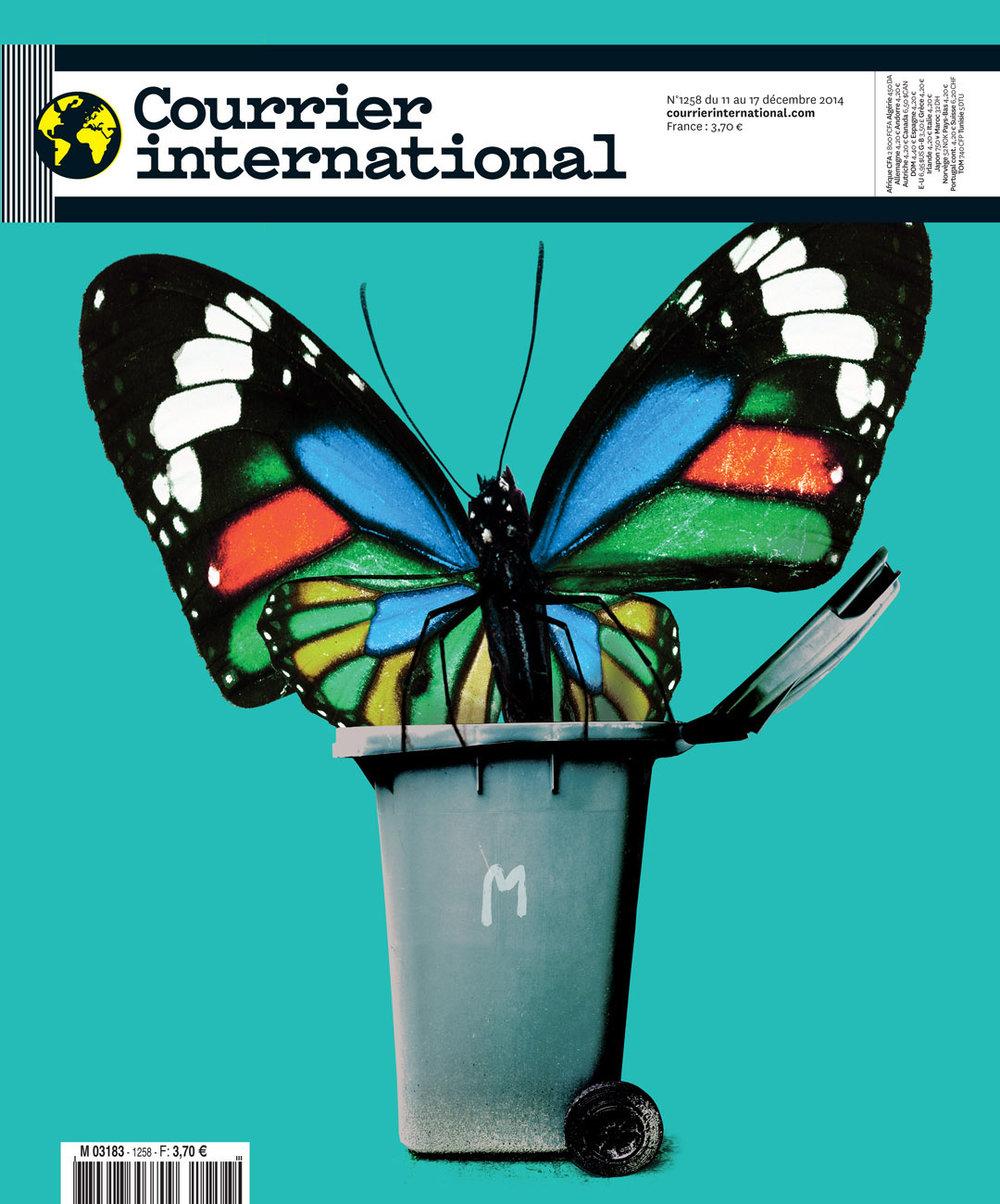 Courrier International (Fr) - RUBBISHAMORPHOSIS