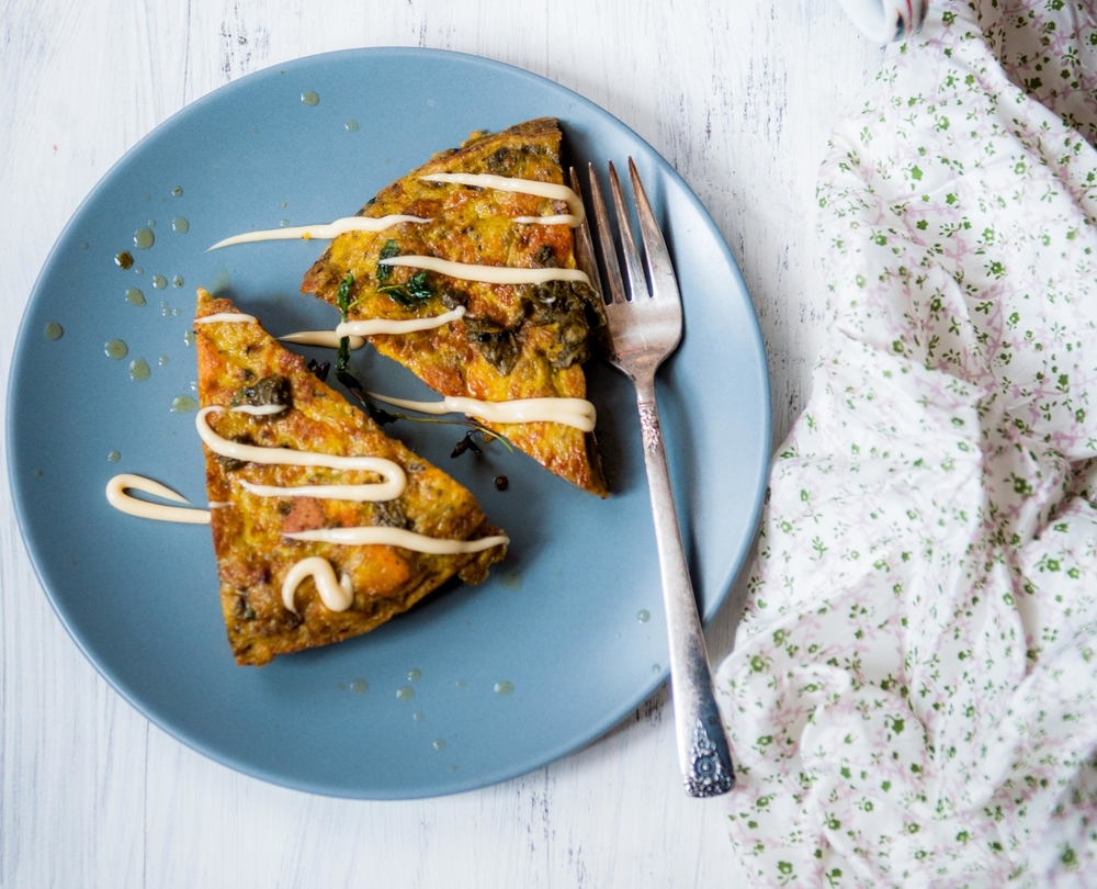 SPANISH SWEET POTATO TORTILLA